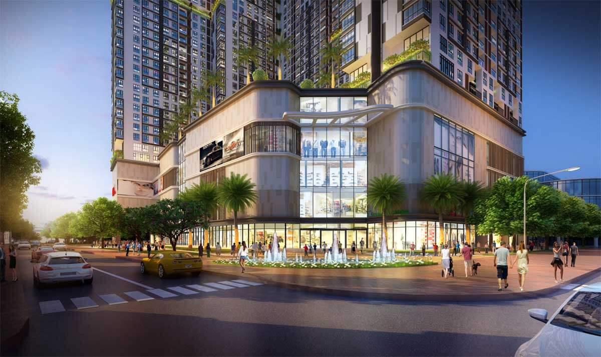 Trung tâm thương mại Dự án Căn hộ King Crown Infinity Thủ Đức
