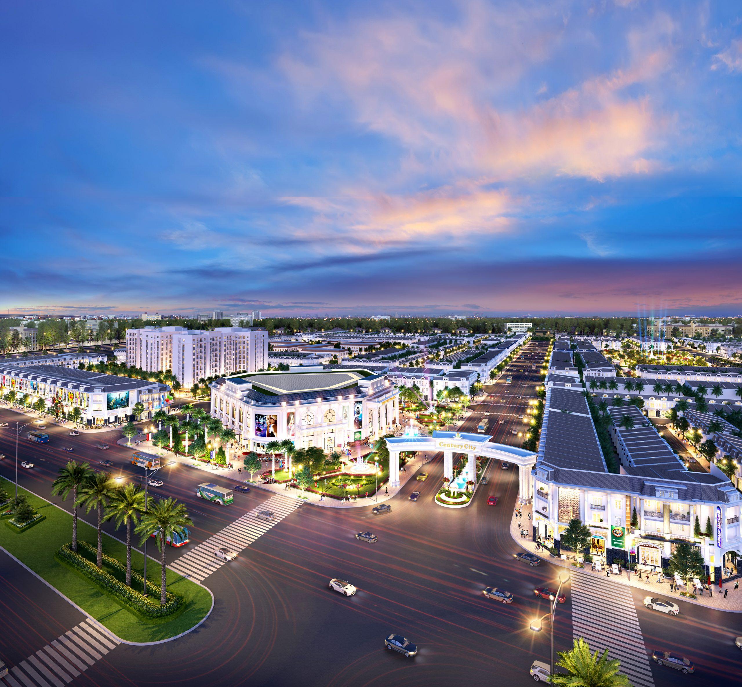 Dự án Century với lợi thế gần Sân Bay Long Thành đang thu hút các giới đầu tư quan tâm